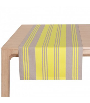 Chemin de table Maia jaune - Jean Vier