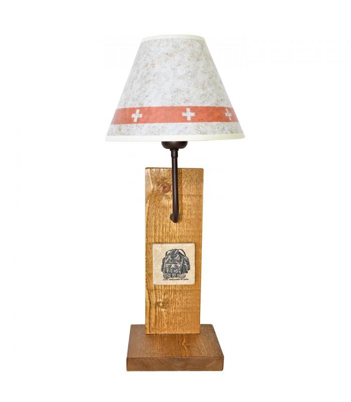 lampe poser style montagne mon home d coration montagne et chalet. Black Bedroom Furniture Sets. Home Design Ideas