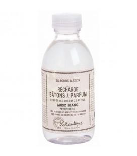 Recharge pour bâtons à parfum musc blanc