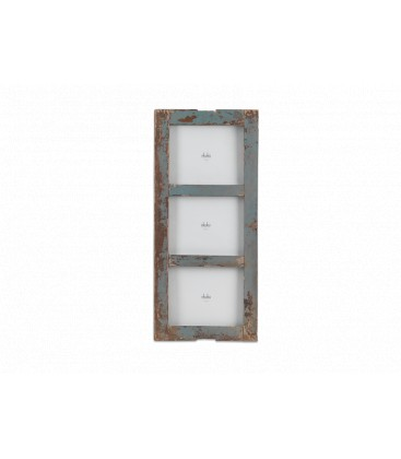 Cadre bois Basu Nkuku - modèle 3 vues