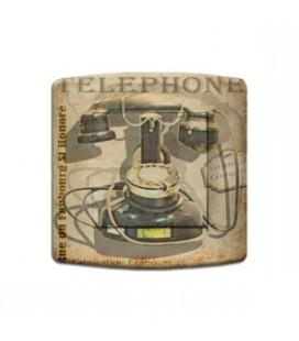 Interrupteur décoré téléphone vintage