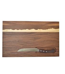 """Planche à découper aimantée """"Mont-Blanc"""" panorama knife"""
