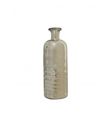 Bouteille ou vase en verre mercurisé
