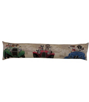 "Coussin ""Wacky race"" long"