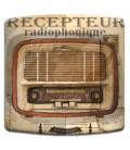 Interrupteur décoré radio vintage