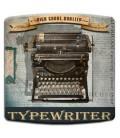 """Interrupteur décoré """"typewriter vintage"""""""