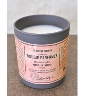 Bougie parfumée Lothantique - pêche de vigne
