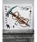"""Tableau Aurelius  """"piolet"""" 60 x 60 cm"""