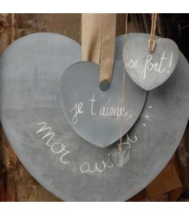 Coeur en zinc