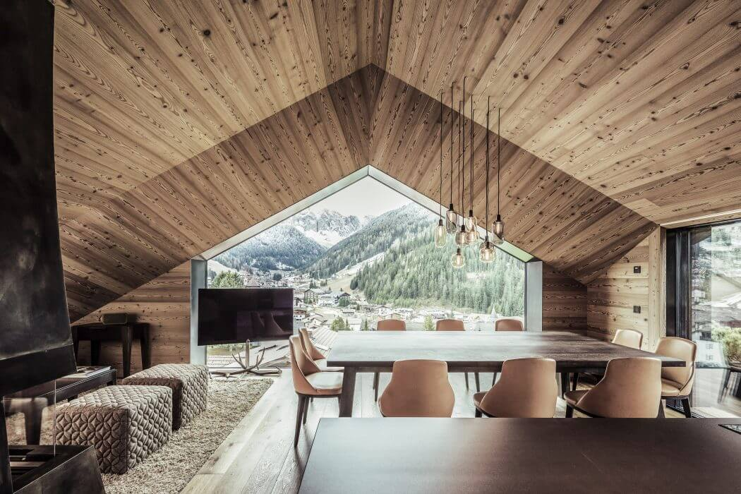 chalet contemporain de rudolf perathoner architecture moderne dans un paysage unique blog. Black Bedroom Furniture Sets. Home Design Ideas