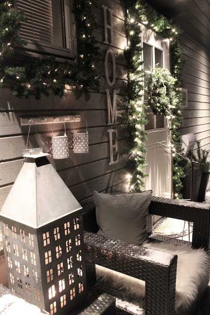 No l la d coration ext rieure blog - Decoration exterieure noel ...