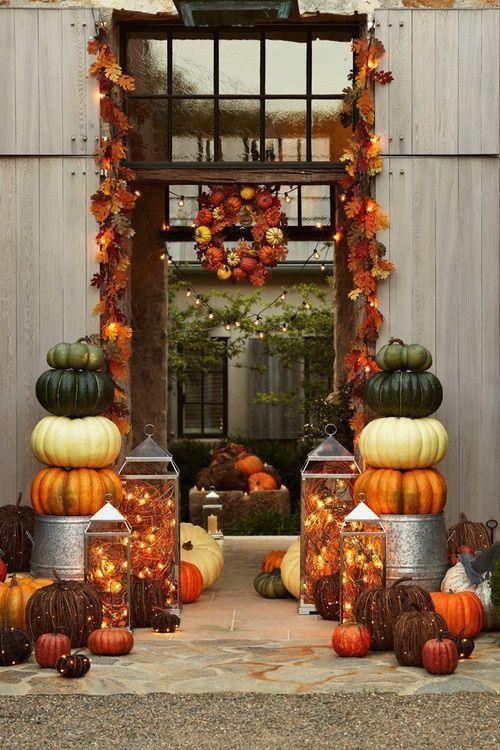 Décoration d'exterieur d'halloween par Floriane Lemarie