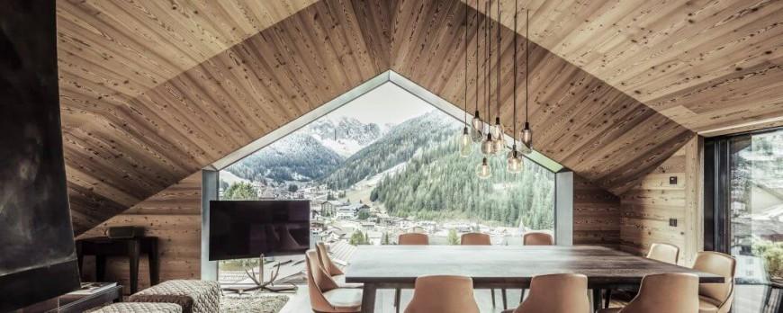 Chalet contemporain de Rudolf Perathoner - Architecture moderne dans ...