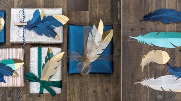 Des idées d'emballages cadeaux originaux et déco pour Noël
