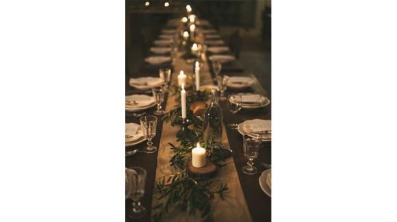 13 idées pour faire une décoration de table de fête