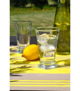 Set de table enduit Maia jaune - Jean Vier