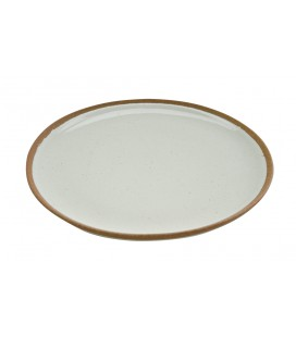 Assiette plate céramique Mali - Nkuku
