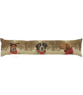 "Coussin ""Forest dogs"" long"
