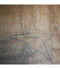 Etoile fil de métal