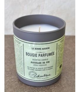 Bougie parfumée Lothantique - aiguilles de pin